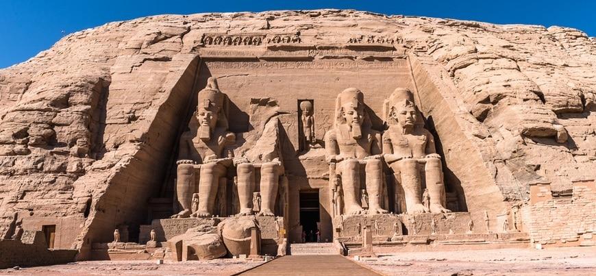 Abu Simbel Temple | Panoramic tour of Egypt landmarks from Hurghada | TripsInEgypt