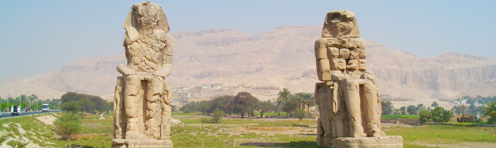 Colossi of Memnon - 8 Days Nile Cruise from Luxor to Aswan - Trips in Egypt