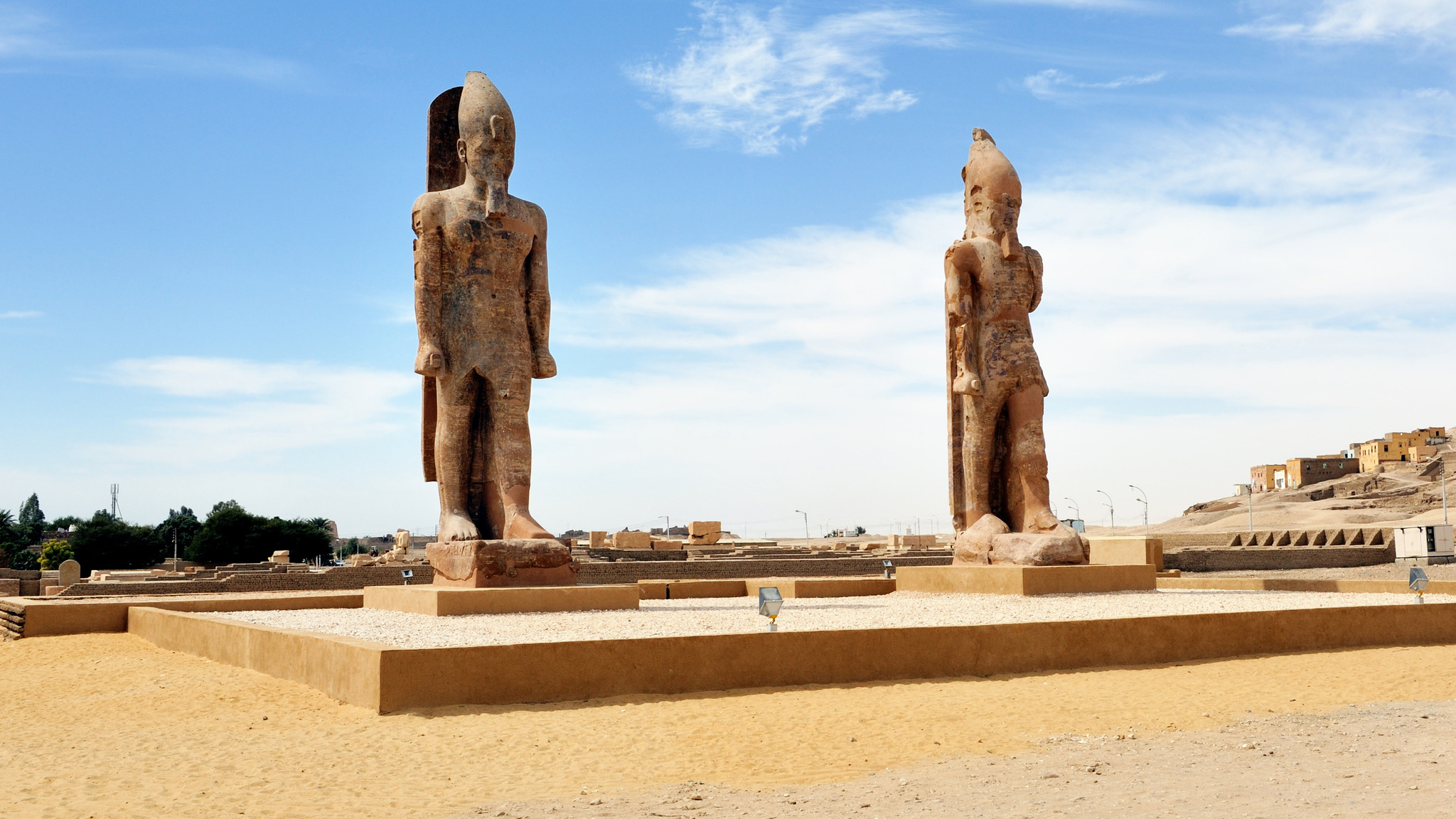 Colossi of Memnon - Cairo, Luxor & Aswan Tour Package - Trips in Egypt