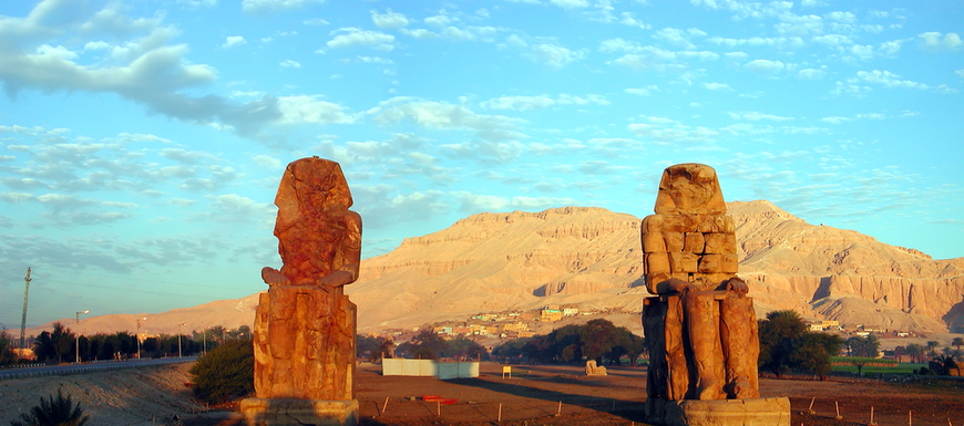 Colossi of Memnon | Day Trips From Hurghada to Luxor | TripsInEgypt