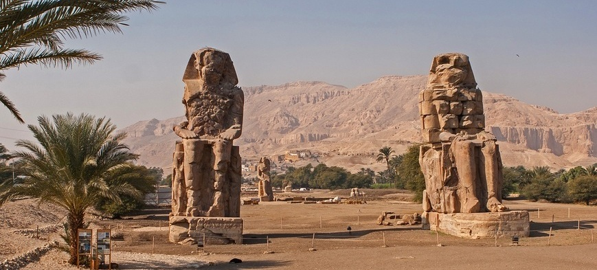 Colossi of Memnon | Luxor Trips from Hurghada | TripsInEgypt