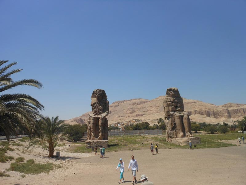 Colossi of Memnon - Trips In Egypt