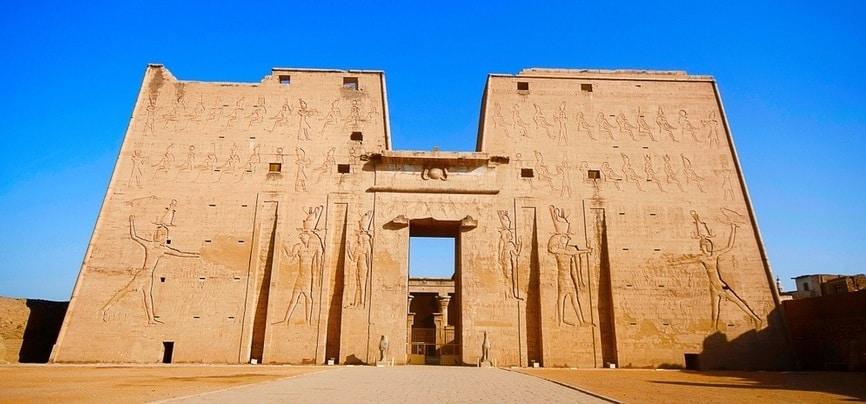Edfu Temple | 10 Days Egypt tour | TripsInEgypt