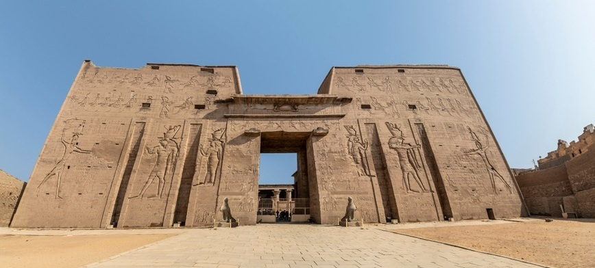 Edfu Temple Temple | Nile Cruise from Marsa Alam | TripsInEgypt