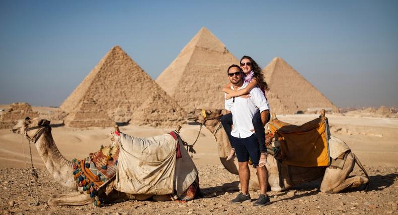 Giza Pyramids | 6 Days Cairo, Luxor & Aswan Tour | TripsInEgypt