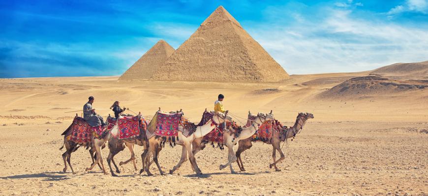 Giza Pyramids - Cairo & Nile Cruise Package - TripsInEgypt