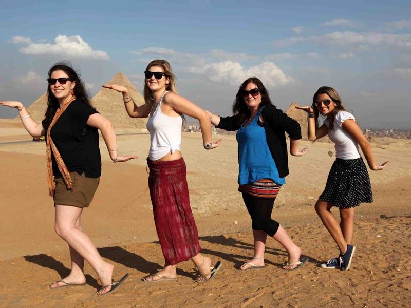 Giza Pyramids Comblex -Trips In Egypt