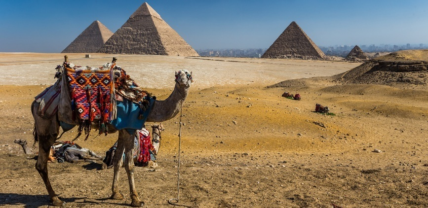 Giza Pyramids - Day trip from sharm to cairo by plane | TripsInEgypt