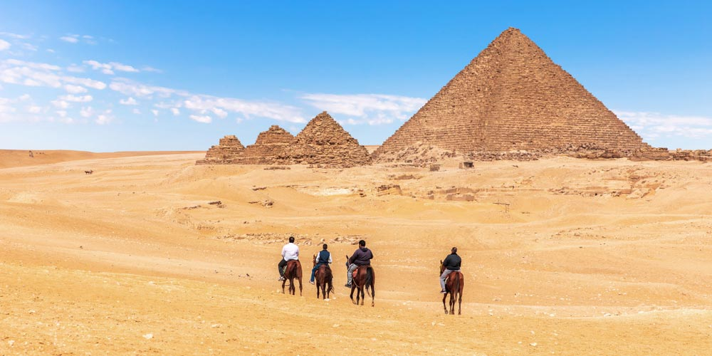 An amazing day tour from Cairo to Pyramids, Sakkara, and Dahshour to explore the great civilization of the ancient Egyptians joined by a private tour guide.