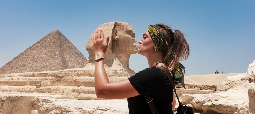 Sphinx | Day Trip to Pyramids from Cairo | TripsInEgypt