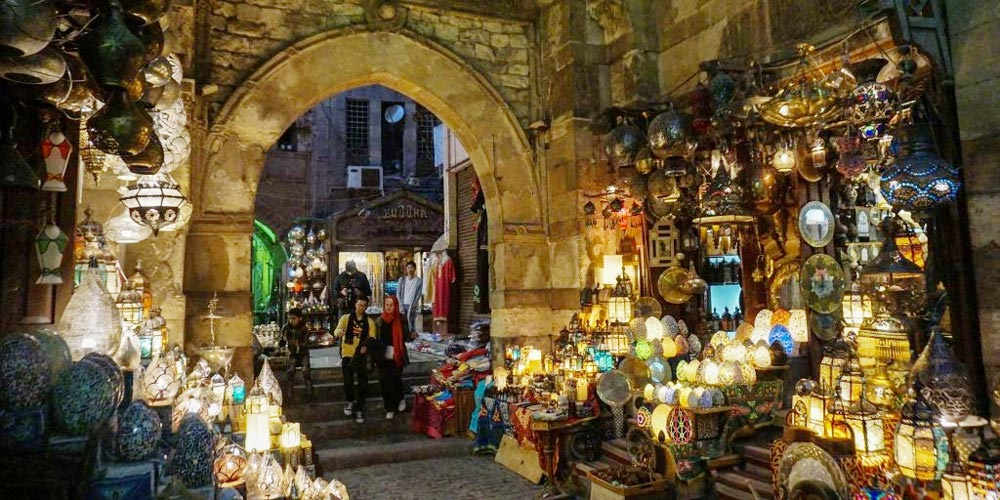 Day Trip from Cairo to Pyramids, Egyptian Museum & Khan El Khalili