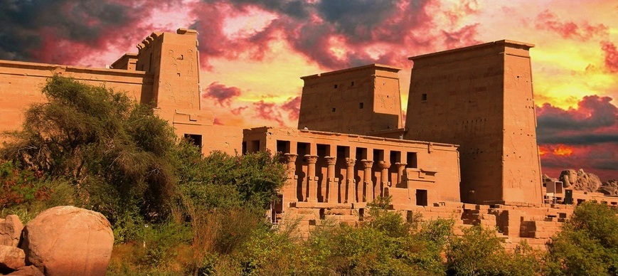 Philae Temple | Nile Cruise from Marsa Alam | TripsInEgypt