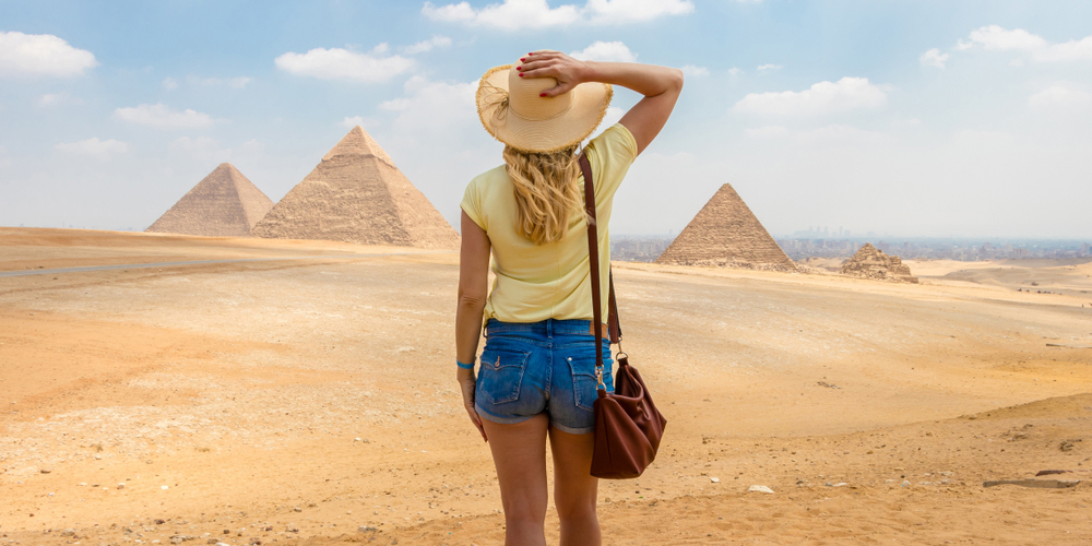 Pyramids of Giza - Best of Egypt from Hurghada - TripsInEgypt