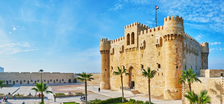 Qaitbay Citadel | 12 Days Cairo, Nile Cruise, Hurghada tour | TripsInEgypt