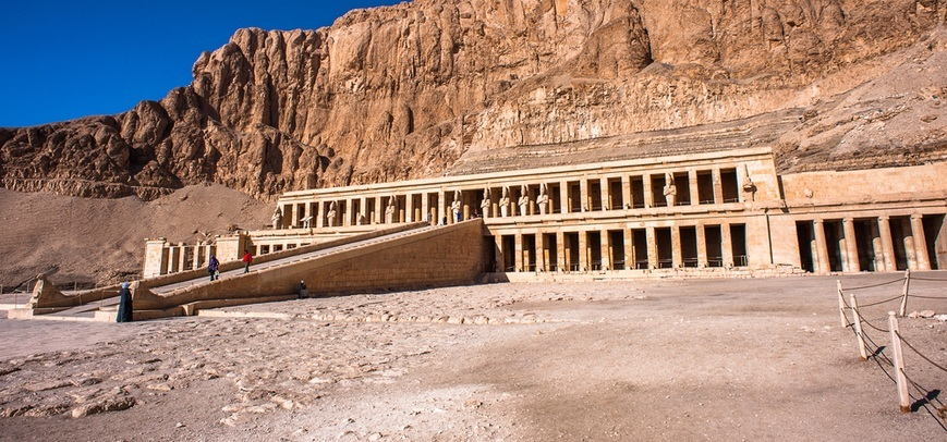 Queen Hatshepsut's Temple - Day Trip from Hurghada to Luxor - TripsInEgypt