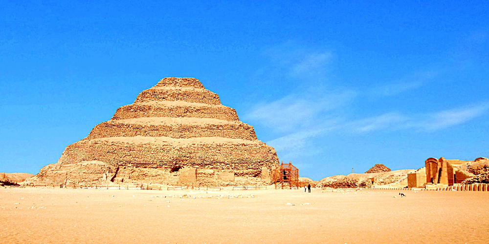 Saqqara Step Pyramid - 4 Days in Cairo - Trips in Egypt