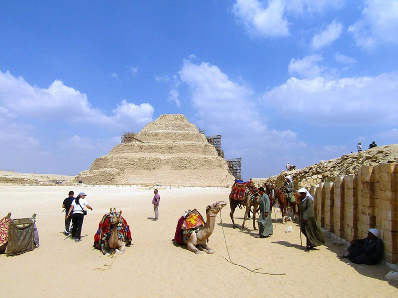 Saqqara Step Pyramid - Day Trip to Pyramids from Cairo - Trips In Egypt