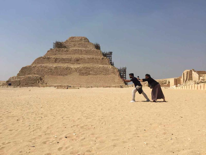 Saqqara step pyramid - Trips In Egypt