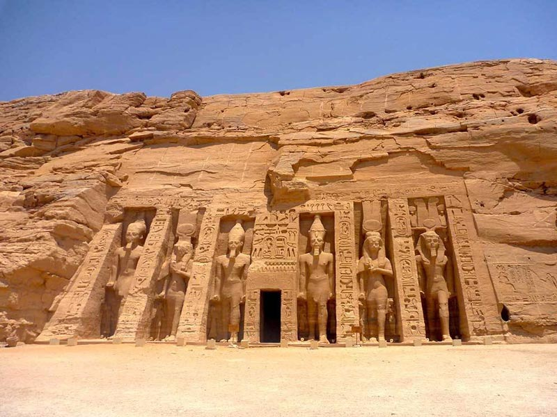 Temple of Queen Nefertari - Aswan to Abu Simbel Tour By Plane - Trips In Egypt
