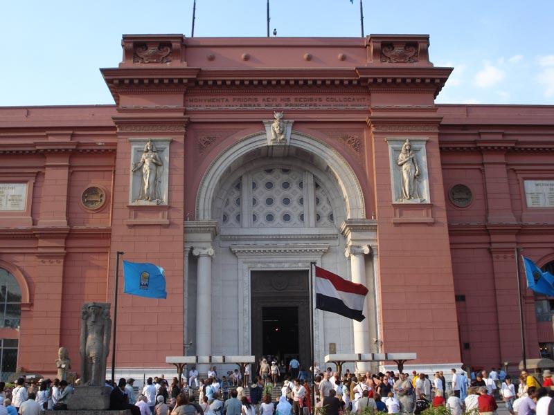 The Egyptian Museum - Day Trip from Hurghada to Cairo by Plane - Trips In Egypt