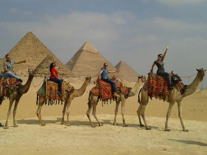 The Giza Pyramid Complex - Trips In Egypt