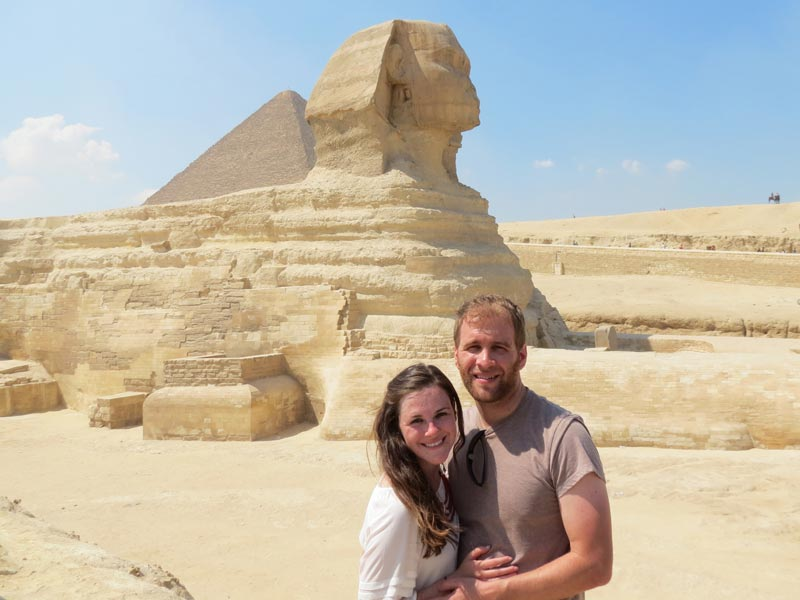 The Giza pyramids Comblex - Trips in Egypt