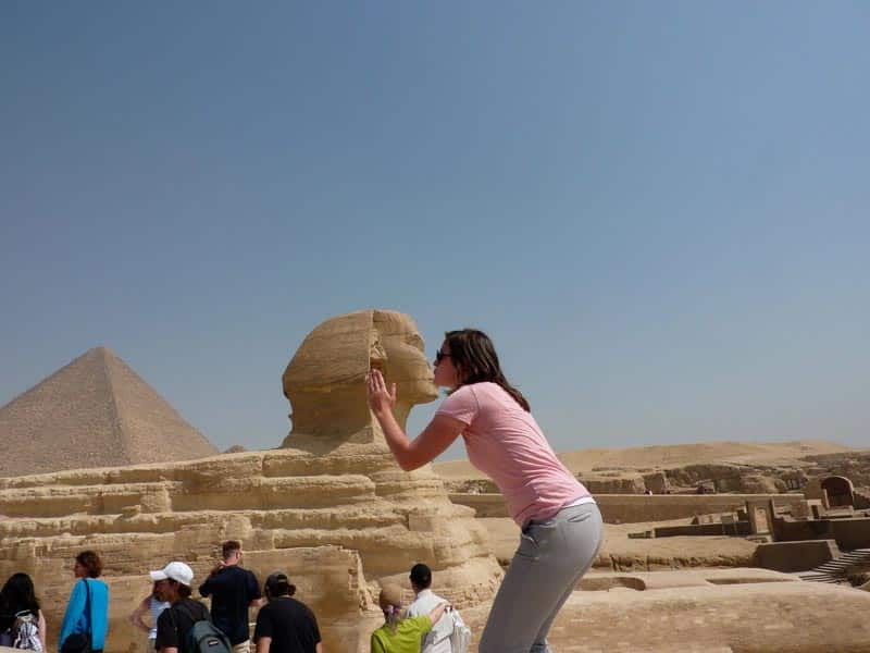 The Great Sphinx - Trips In Egypt