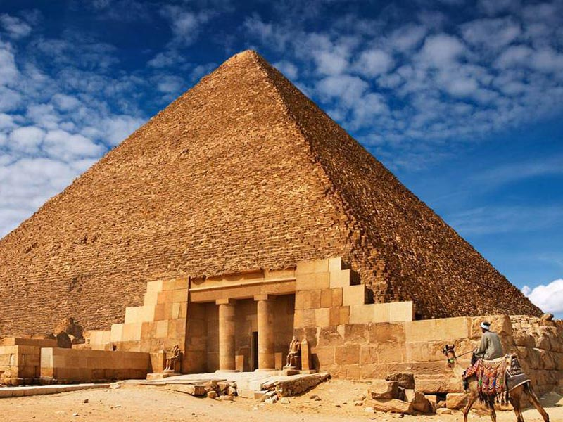 The giza pyramids - Trips In Egypt