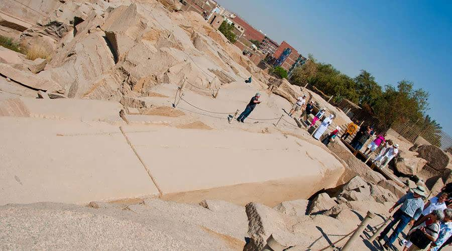 The Unfinished Obelisk - Aswan Attractions - Trips In Egypt