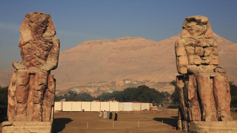 Colossi of Memnon | 7 Days Egypt Tour | TripsInEgypt