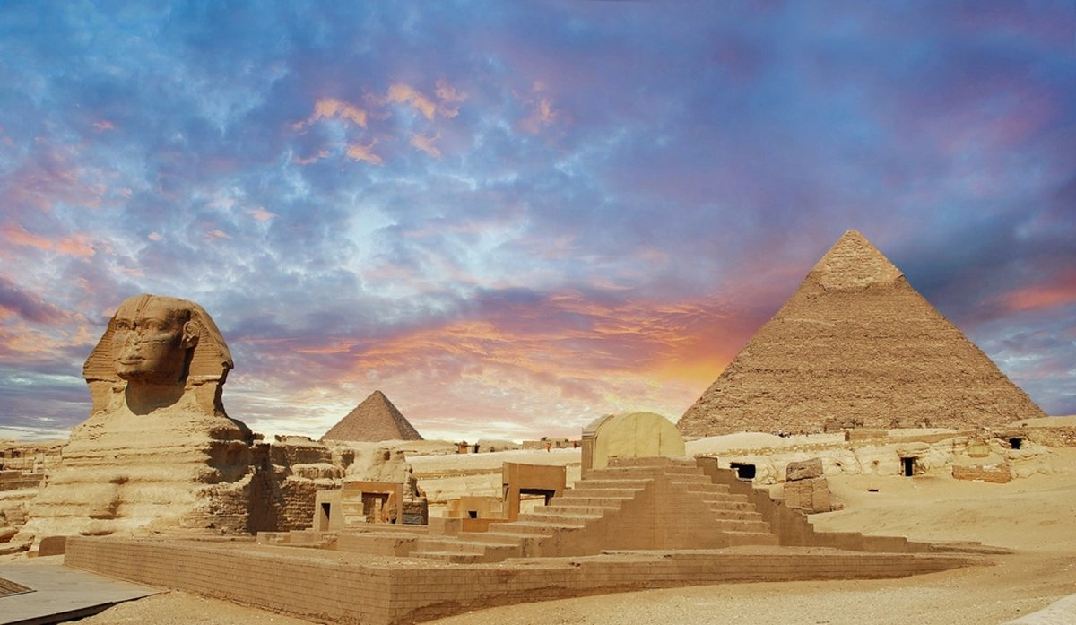 Giza Pyramids - 4 Days Cairo and Aswan Tour - TripsInEgypt