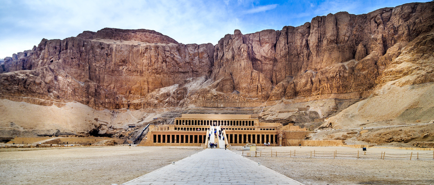 Queen Hatshepsut Temple - 7 Days Cairo, Luxor & Alexandria Tour - Trips In Egypt
