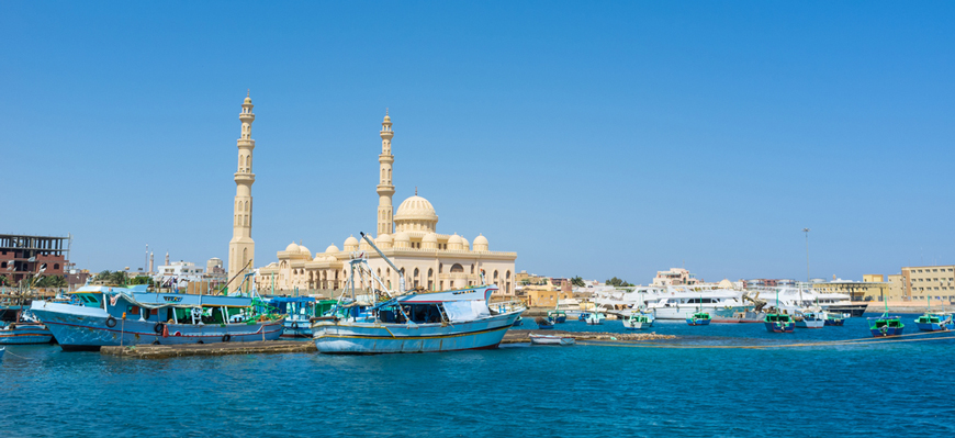 Hurghada City - Cairo & Nile Cruise Package - TripsInEgypt