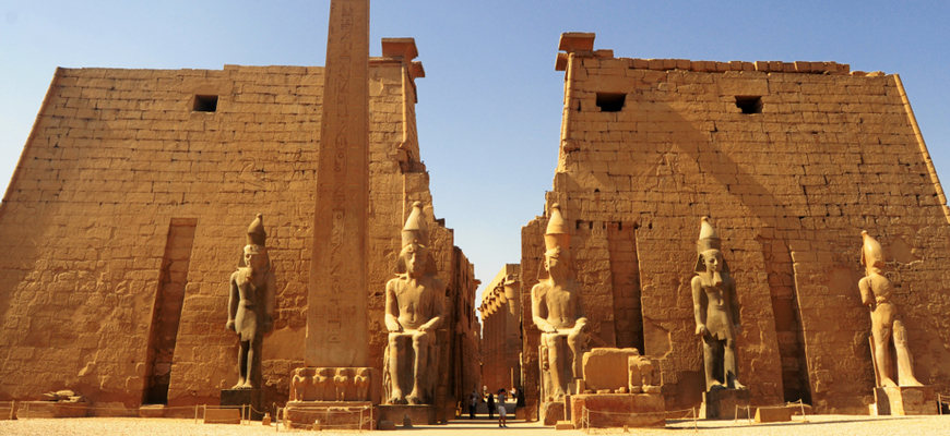 Luxor Temple - 7 Days Egypt Itinerary - TripsInEgypt