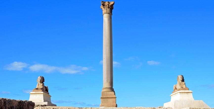 Pompey's Pillar | 7 Days Cairo Luxor alexandria Tour | TripsInEgypt