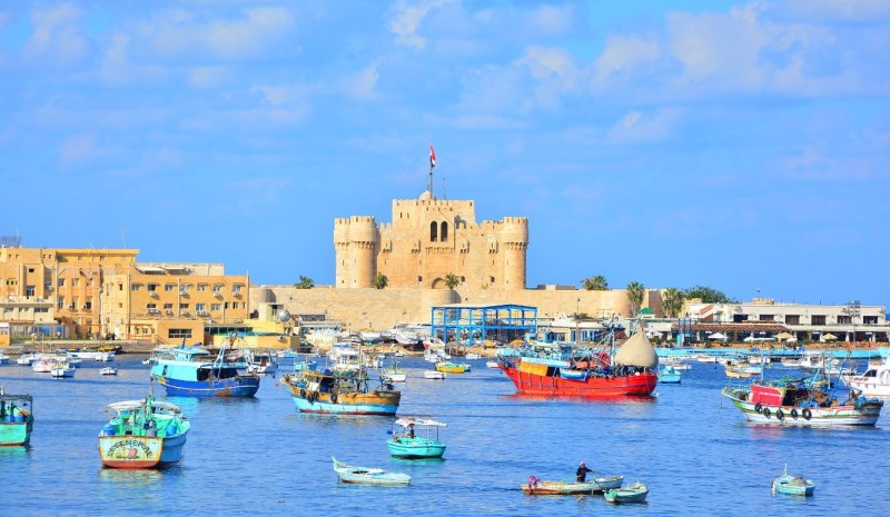 Qaitbay Citadel - 4 Days Cairo and Alexandria Tour Package - TripsInEgypt