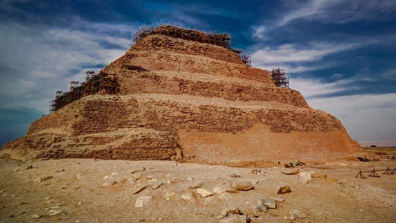 Saqqara Step Pyramid - Cairo, Alexandria & Nile Cruise - Trips In Egypt