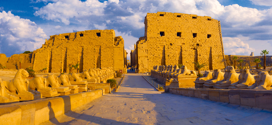 Temple of Karnak - Cairo, Alexandria, Nile Cruise & Hurghada - TripsInEgypt