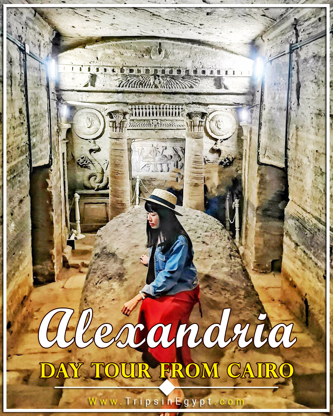 Catacombs of Kom El Shoqafa Facts - Catacombs of Alexandria - Catacombs of Egypt