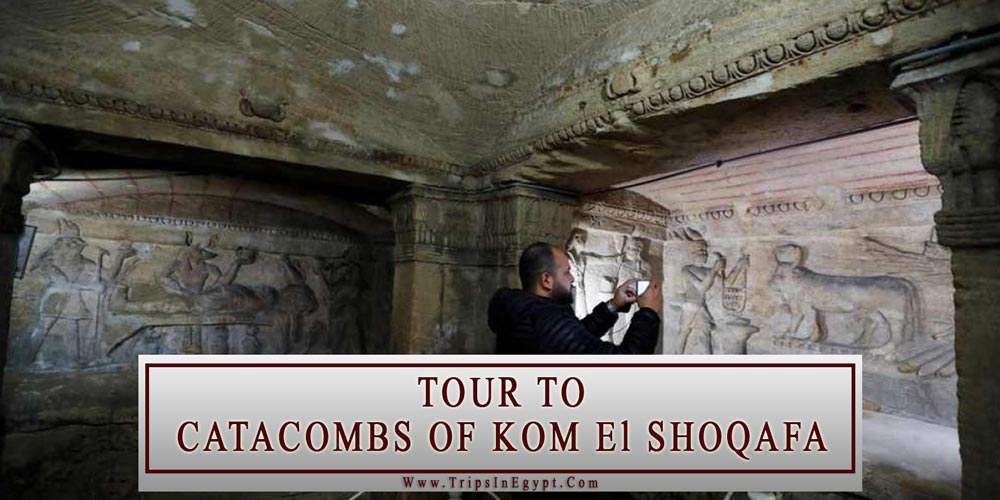Catacombs of Kom El Shoqafa Tour - Alexandria Attractions - Trips In Egypt