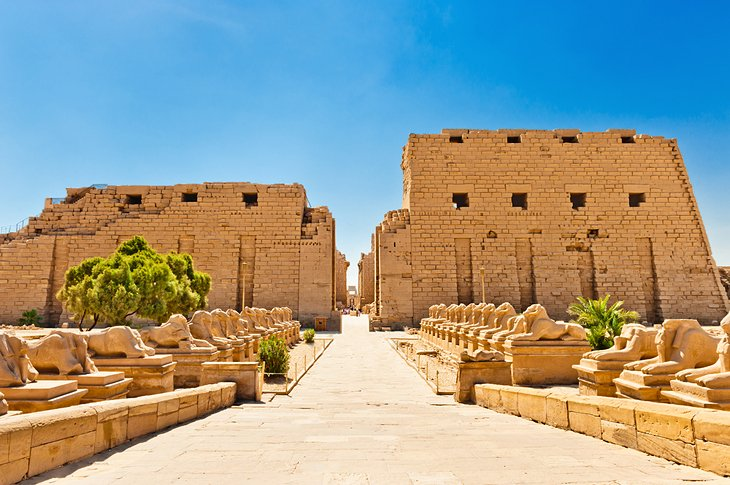 Karnak Temple - Luxor Tourist Attractions - Trips In Egypt