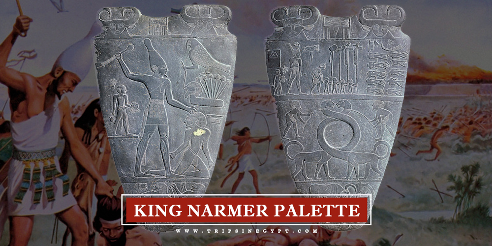 King Narmer Palette - Trips in Egypt