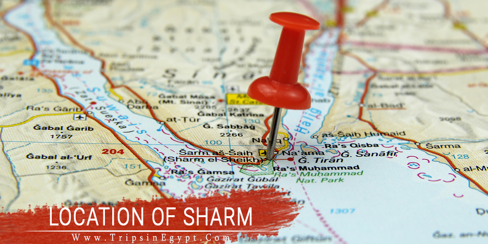 Location & Climate of Sharm El Sheikh - Trips in Egypt