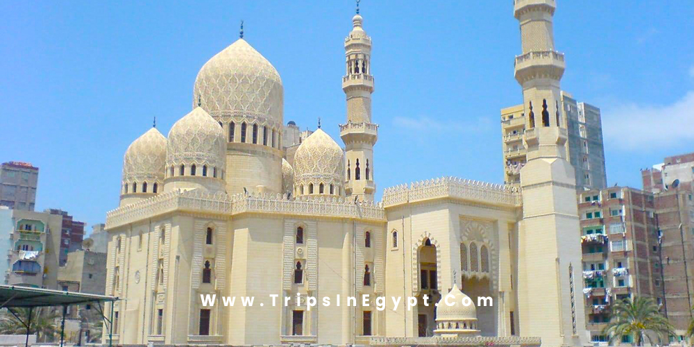 Morsi Abu El Abbas Mosque - Alexandria Egypt - Trips in Egypt