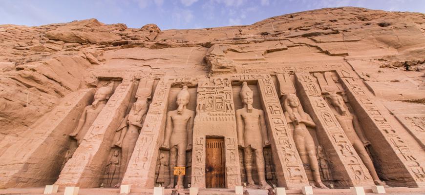 Nefertari Temple - Abu Simbel - TripsInEgypt