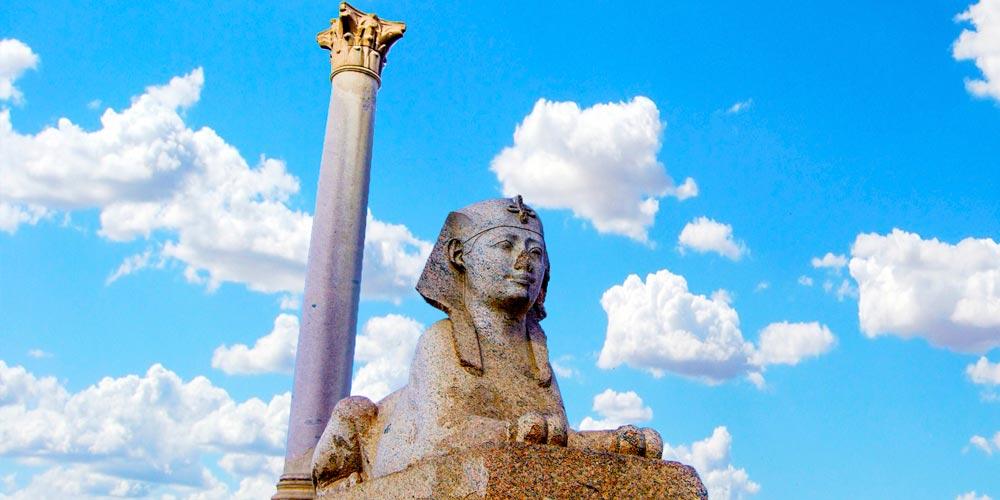 Pompey's Pillar Alexandria | Pompey's Pillar History | Pompey's Pillar Facts