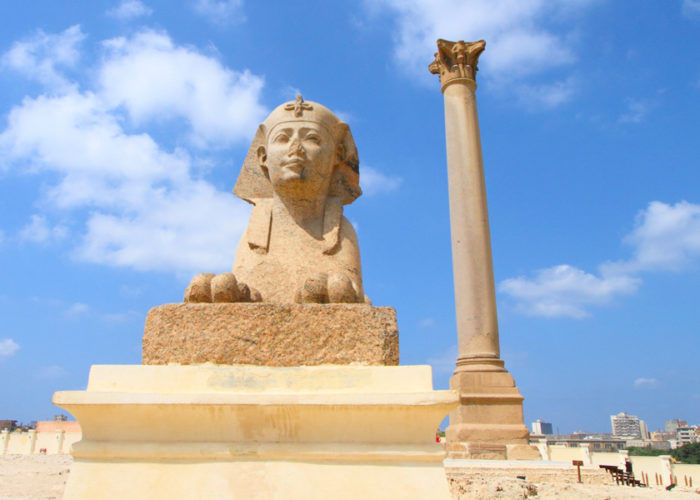Pompey's Pillar Alexandria - Trips in Egypt