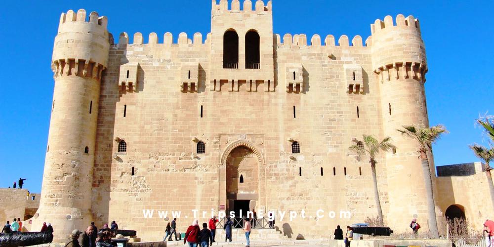 Qaitbay Citadel - Alexandria Egypt - Trips in Egypt