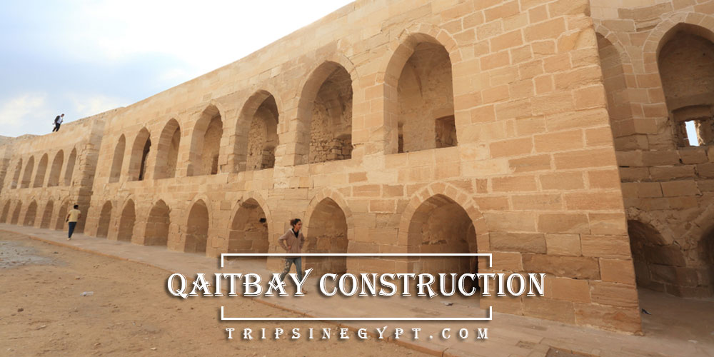 Qaitbay Citadel Construction - Trips in Egypt