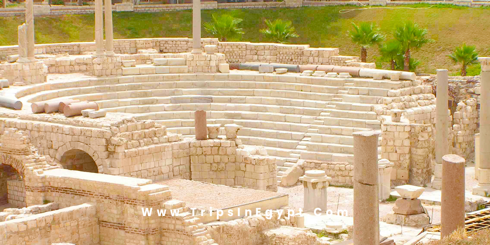 Roman Theater of Alexandria - Alexandria Egypt - Trips in Egypt